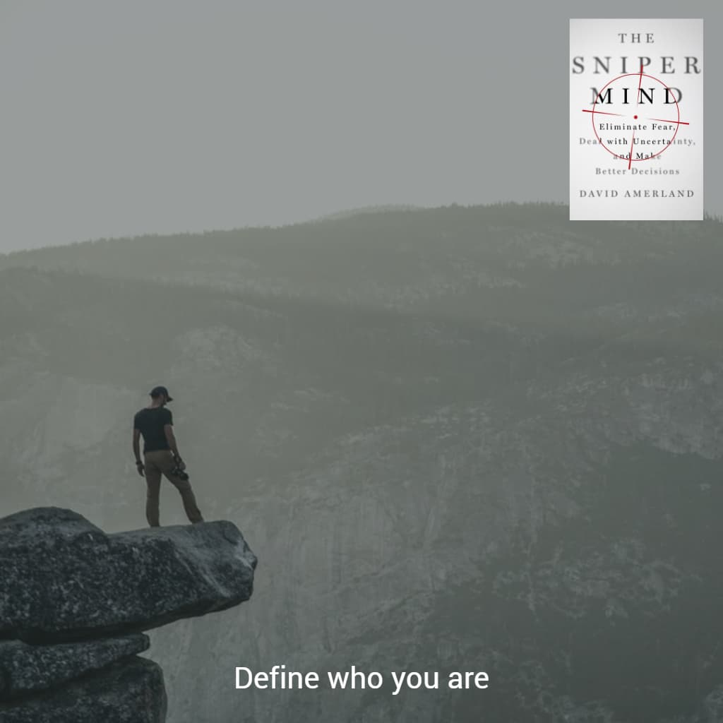 Define who you really are