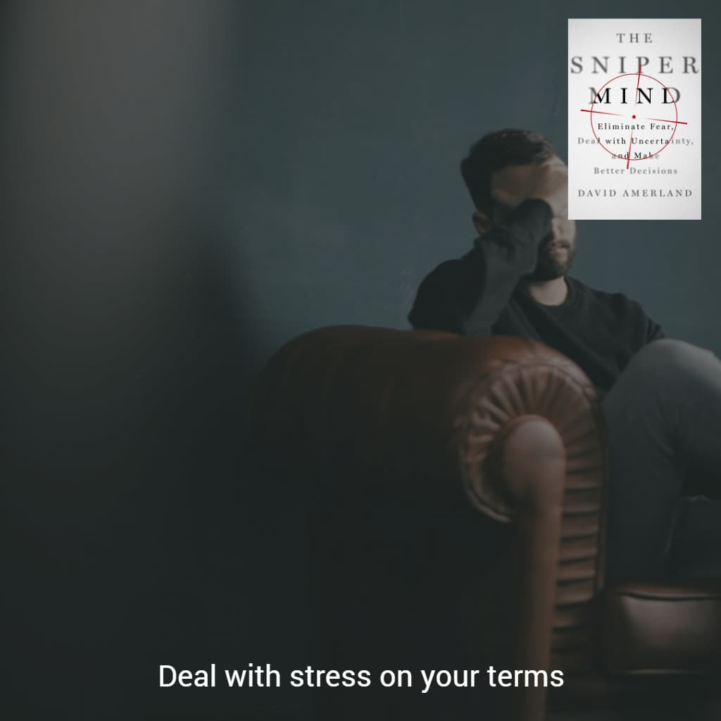 We have to be able to manage stress better