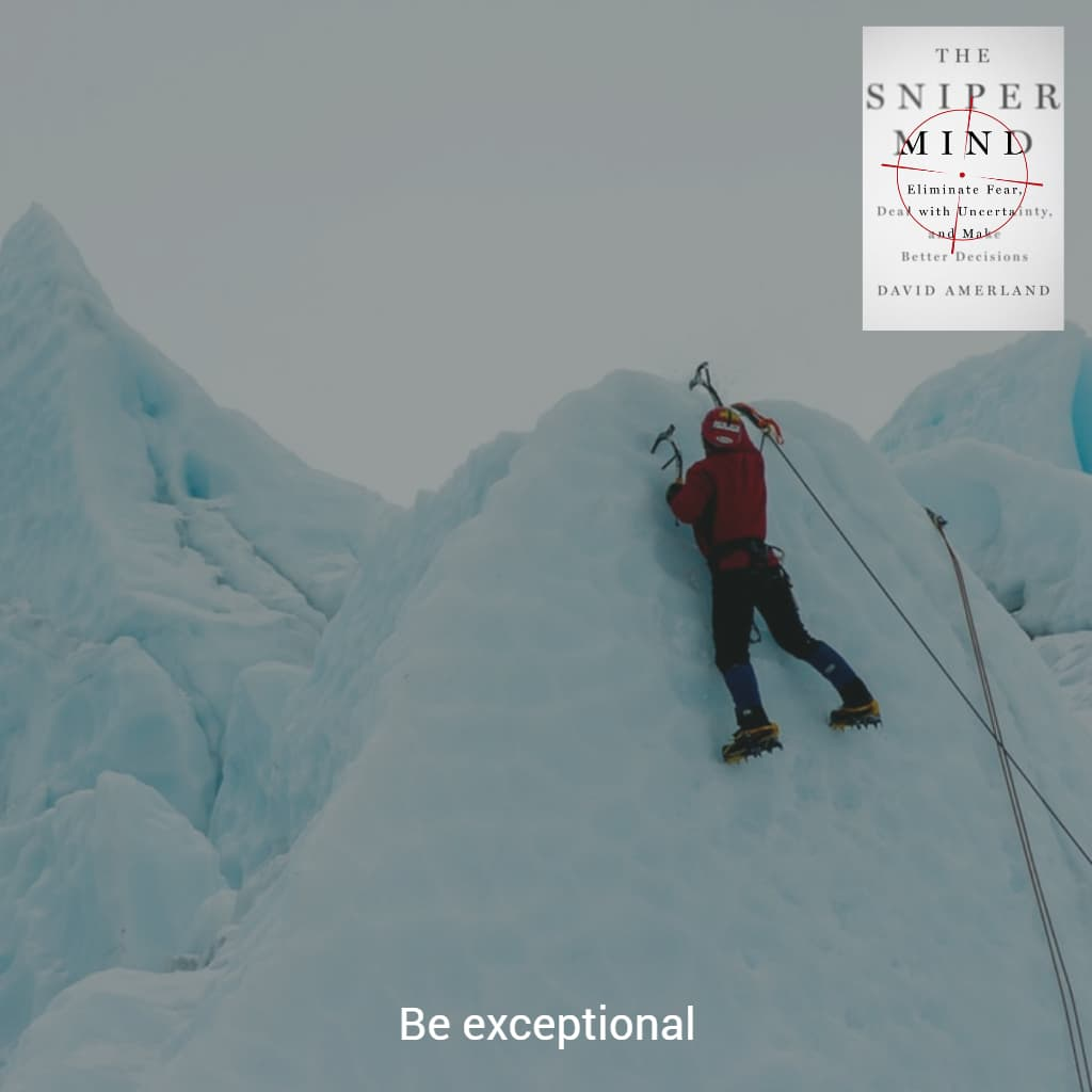 Being exceptional starts from the inside