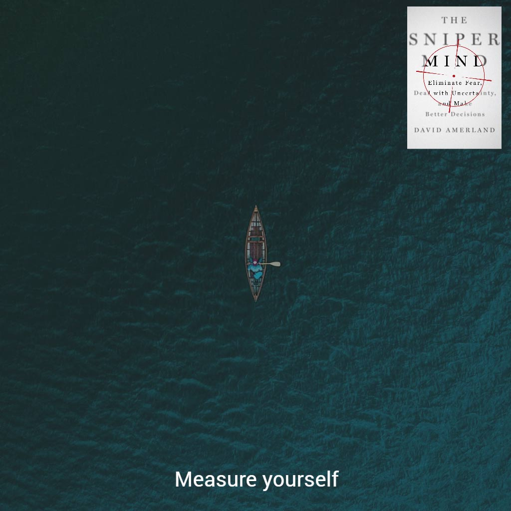 Measure yourself and what you can do