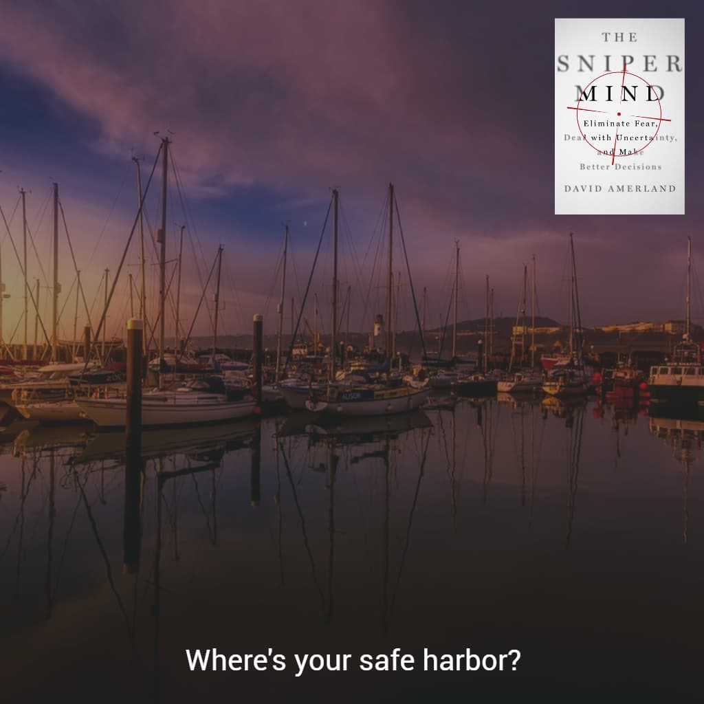 The safe harbor of our mind.
