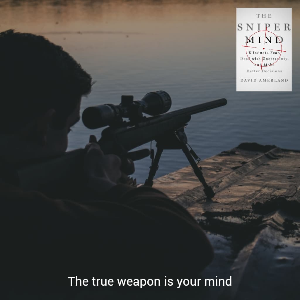 Your mind is a weapon.