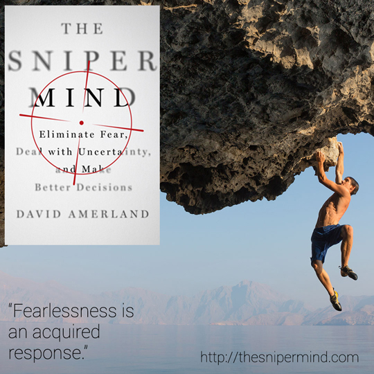 Alex Honnold featured in The Sniper Mind