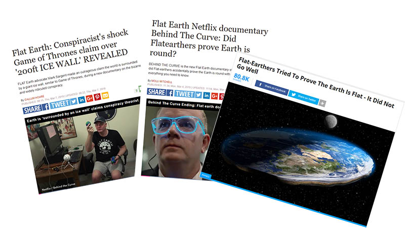 Mark Sargent ridiculed by media for his Flat Earth beliefs