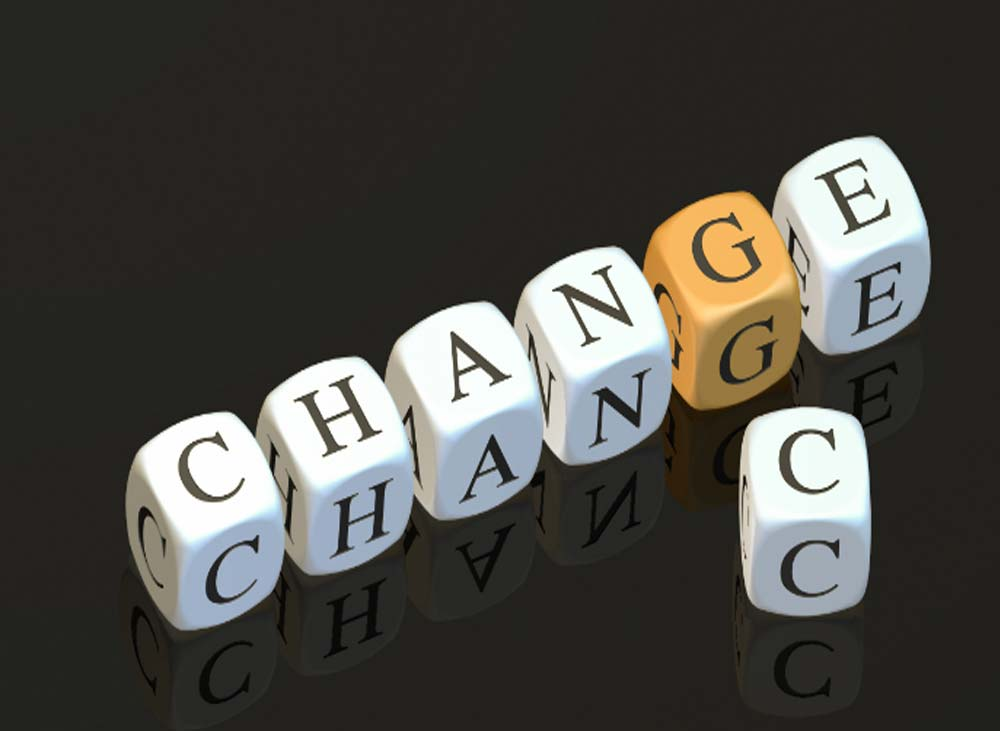 The four rules for successful change management