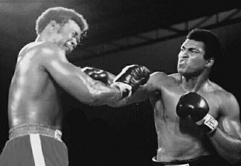Muhammad Ali's victory over George Foreman was the result of strategy and tactics, belief and confidence.