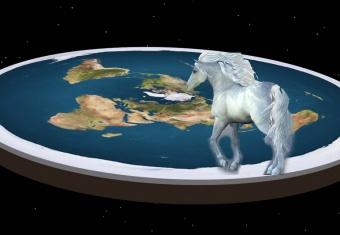 Flat Earthers See Unicorns