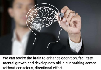 The brain can be rewired with specific techniques